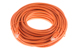 CAT6 Ethernet Patch Cable, Booted, 50ft, Orange