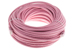 CAT6 Ethernet Patch Cable, Booted, 100ft, Pink