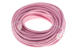CAT6 Ethernet Patch Cable, Booted, 50ft, Pink