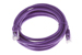 CAT6 Ethernet Patch Cable, Booted, 10ft, Purple