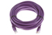 CAT6 Ethernet Patch Cable, Booted, 20ft, Purple