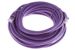 CAT6 Ethernet Patch Cable, Booted, 25ft, Purple