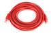 CAT6 Ethernet Patch Cable, Booted, 20ft, Red