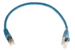 CAT6 Shielded Ethernet Patch Cable, Booted, 1ft, Blue
