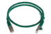 CAT6 Shielded Ethernet Patch Cable, Booted, 2ft, Green