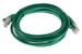 CAT6 Shielded Ethernet Patch Cable, Booted, 7ft, Green