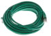 CAT6 Shielded Ethernet Patch Cable, Booted, 25ft, Green