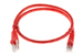 CAT6 Shielded Ethernet Patch Cable, Booted, 2ft, Red
