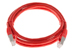 CAT6 Shielded Ethernet Patch Cable, Booted, 4ft, Red