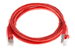 CAT6 Shielded Ethernet Patch Cable, Booted, 5ft, Red