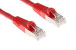 CAT6 Shielded Ethernet Patch Cable, Booted, 50ft, Red