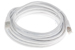 CAT6 Shielded Ethernet Patch Cable, Booted, 25ft, White