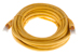 CAT6 Shielded Ethernet Patch Cable, Booted, 20ft, Yellow
