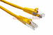CAT6 Shielded Ethernet Patch Cable, Booted, 75ft, Yellow
