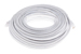CAT6 Ethernet Patch Cable, Booted, 100ft, White