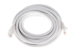 CAT6 Ethernet Patch Cable, Booted, 20ft, White