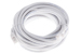 CAT6 Ethernet Patch Cable, Booted, 25ft, White