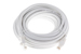 CAT6 Ethernet Patch Cable, Booted, 30ft, White