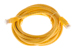 CAT6 Ethernet Patch Cable, Booted, 10ft, Yellow