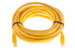 CAT6 Ethernet Patch Cable, Booted, 14ft, Yellow
