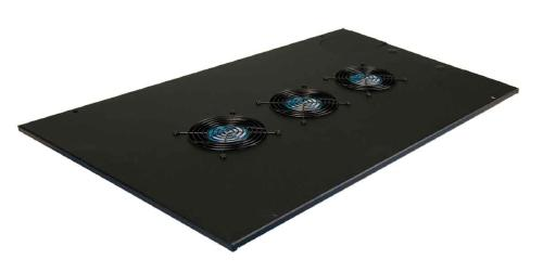 "Great Lakes Top Panel w/Fan & 4"" Knock-Outs for 24""W Enclosures"