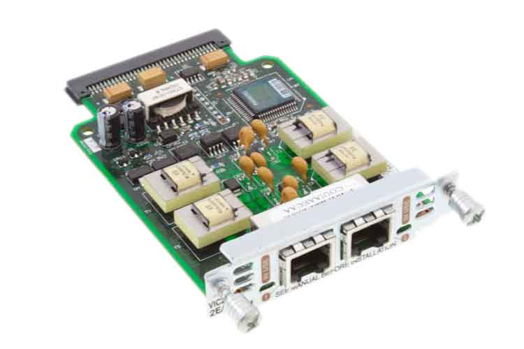 Cisco 2-Port E&M Voice Interface Card, VIC2-2E/M