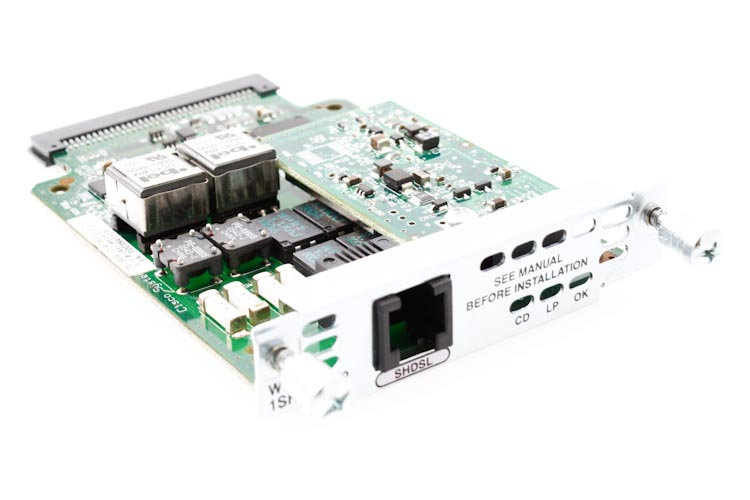 Cisco 1 Port WAN Interface Card, WIC-1SHDSL-V2