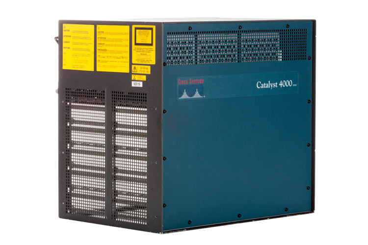 Cisco Catalyst 4006 Chassis w/ WS-X4013 & (3) AC Power Supplies