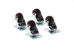Kendall Howard Portable Rack Locking Caster Kit
