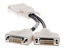 Molex DMS-59 to 2x DVI-I Splitter Cable