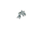 Rack Mount Cage Nuts, 10-32, Qty 4
