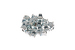 Rack Mount Cage Nuts, 10-32, Qty 25