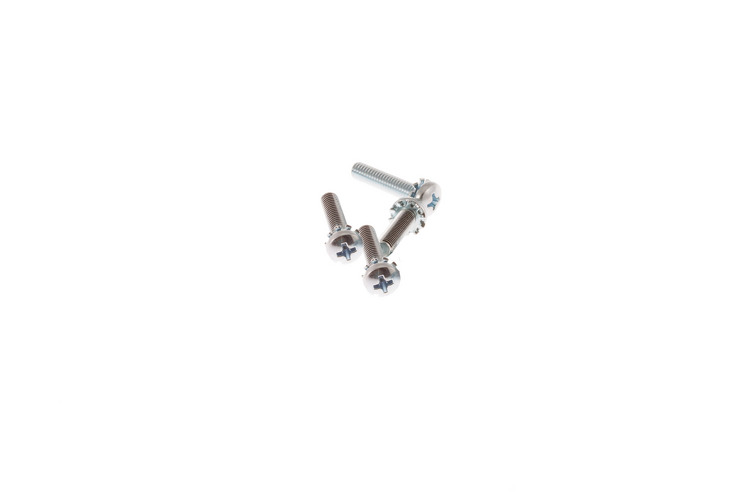 Rack Mount Cage Nut Screws, 12-24, Qty 4
