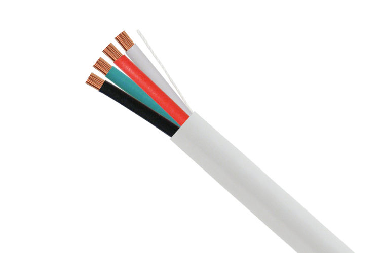 Audio Cable, 14/4, 41 Strand, 1000', White