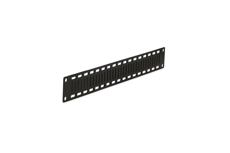 1U Flat Cable Lacing Panel | 10 pack