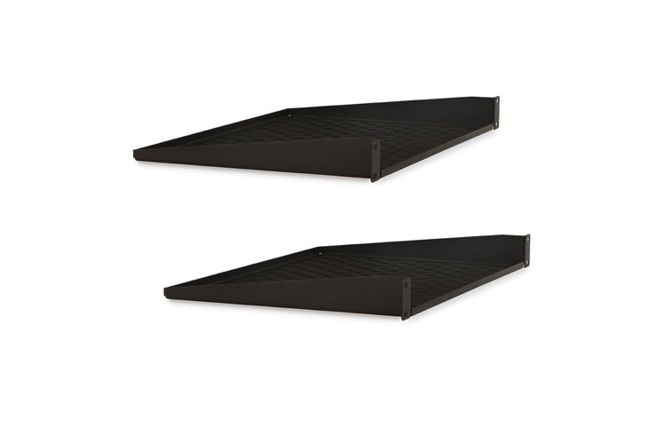 Kendall Howard 1U Vented Rack Shelf - 2 Pack