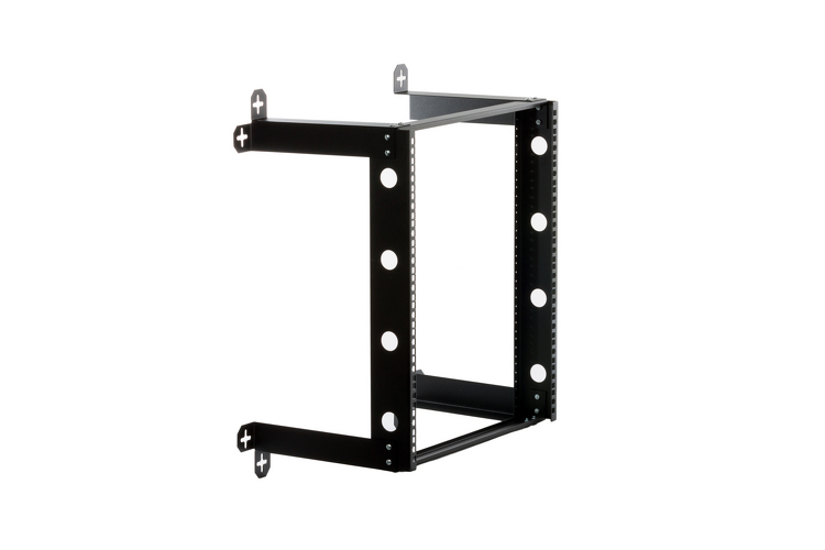 Kendall Howard 12U V-Line Fixed Wall Rack