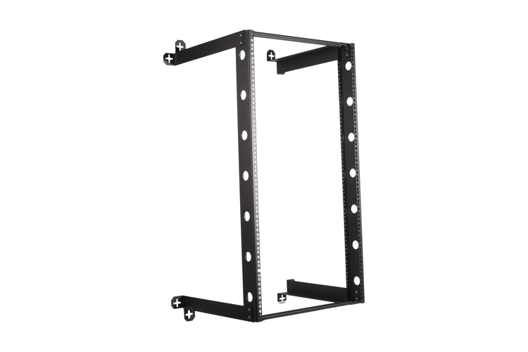 "21U V-Line Wall Mount Rack - 18"" Depth"