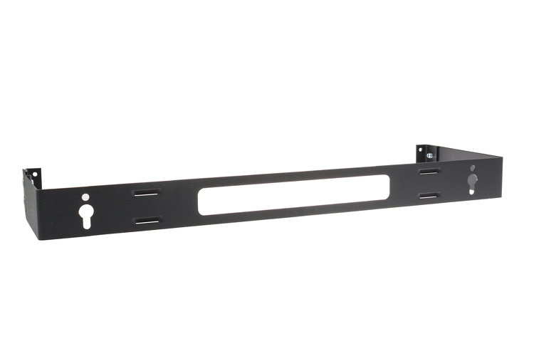 Kendall Howard 1U Hinged Patch Panel Brackets