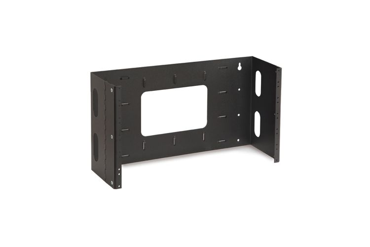 Kendall Howard 6U Hinged Patch Panel Brackets
