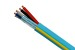 CONTROL CABLE Plenum: 22/2 + 18/2, Teal, 1000'
