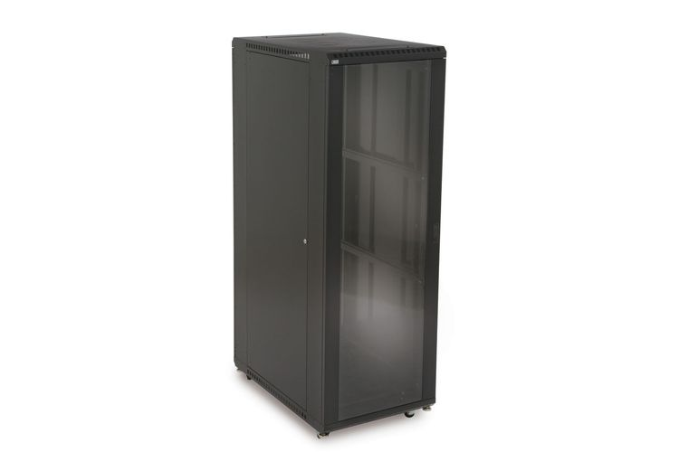 "37U LINIER Server Cabinet - Glass/Solid Doors - 36"" Depth"