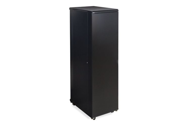 "LINIER 42U Server Cabinet - Solid/Solid Doors - 36"" Depth"