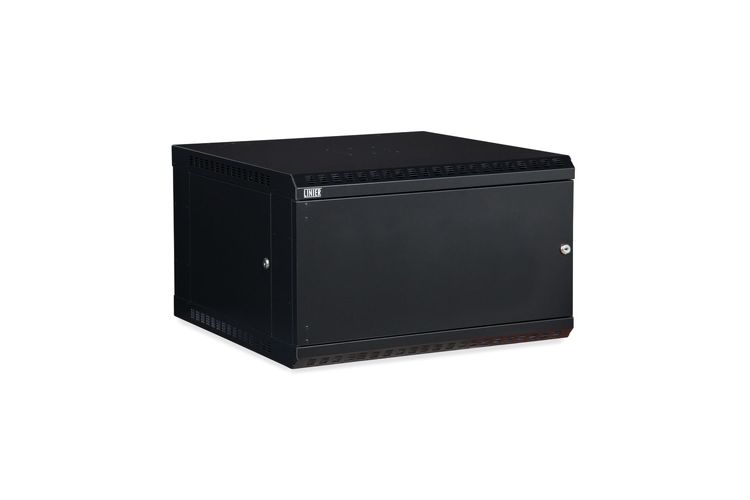 "LINIER 6U 19"" Wall Mount Cabinet with Solid Door"