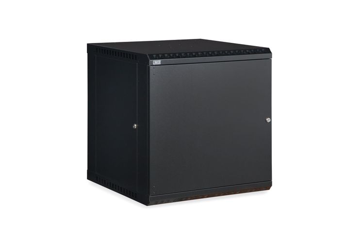 "LINIER 12U 19"" Wall Mount Cabinet with Solid Door"