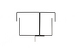 Gruber High Capacity Vertical Cable Brackets (1 Pair)