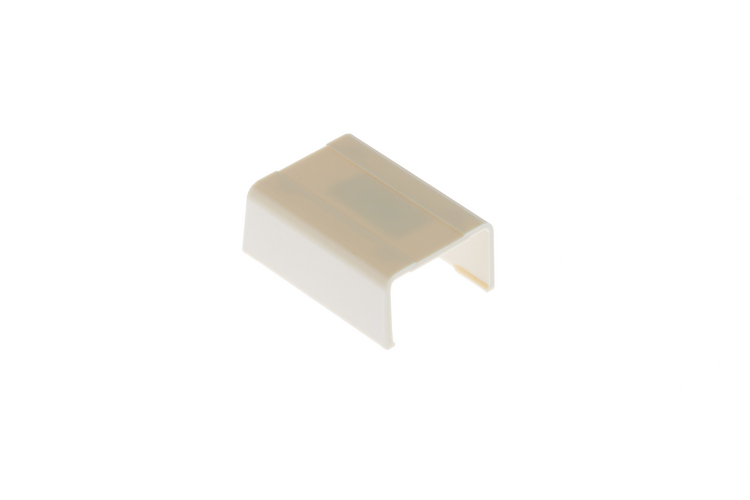 Cable Raceway Joint Cover, Beige, 1.25""
