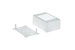 Cable Raceway Junction Box, White