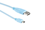 Cisco Blue USB Console Cable, 6ft, Compatible, CAB-CONSOLE-USB