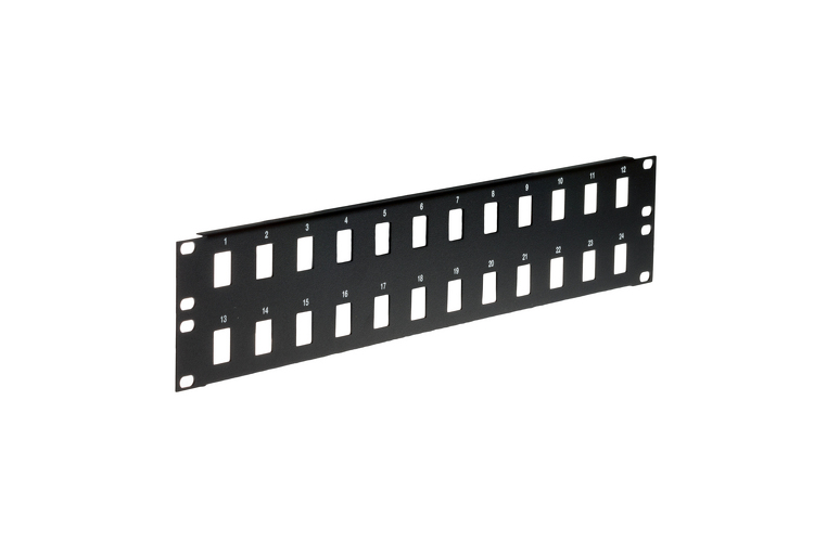 Gruber 24 Port Keystone Panel